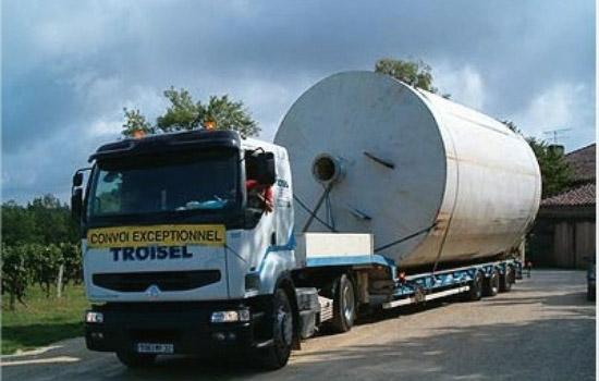 Convoi exceptionnel véhicule transport