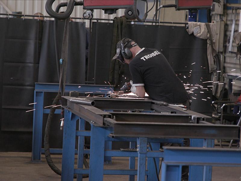 Atelier réalisation troisel ouvrier
