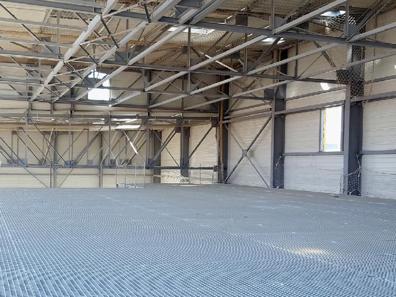 Construction charpente métallique intérieur
