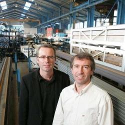 Didier et Patrick Lescos dirigeant de Troisel