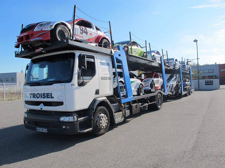 Transport véhicule compétition
