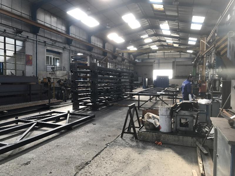 construction métallique ateliers ouvrier